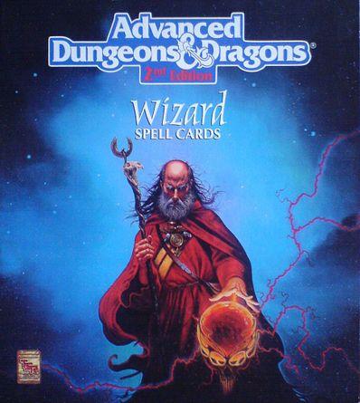 Wizard Spell Cards | RPG Item | RPGGeek