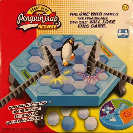 Penguin Peril Funny Strategy Game Don/'t Let The Penguin Fall Family Game