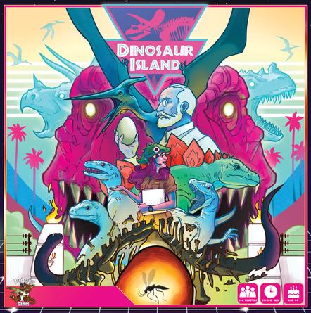 Dinosaur Island FAQ | Dinosaur Island | BoardGameGeek