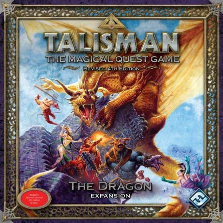 Talisman (Revised 4th Edition): The Dragon Expansion   Board