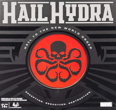 Hail Hydra | Board Game | BoardGameGeek