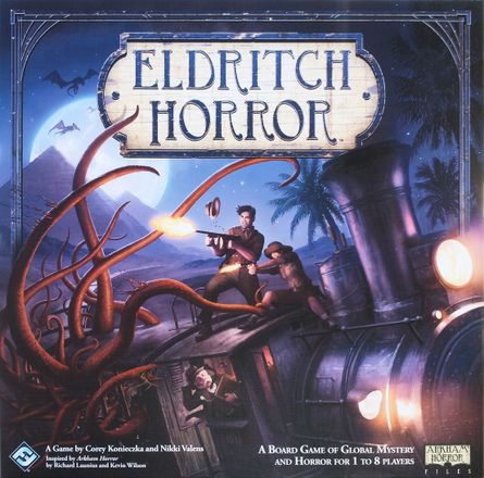 Review: Eldritch Horror:: Prepare to Cthu-lose your sanity