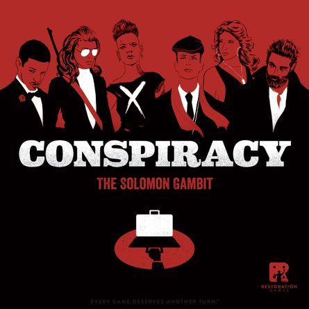 Conspiracy: The Solomon Gambit | Board Game | BoardGameGeek
