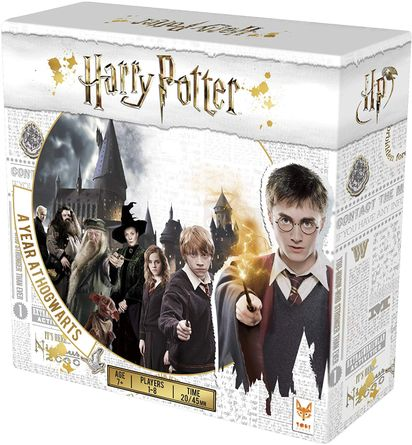 Harry Potter A Year At Hogwarts Board Game Boardgamegeek