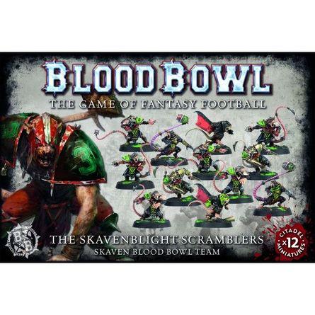 Games Workshop Blood Bowl Skavenblight Scramblers Team x 12 Players