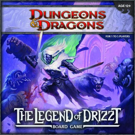 Dungeons Dragons The Legend Of Drizzt Board Game Board Game Boardgamegeek