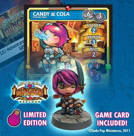 Super Dungeon Explore Candy And Cola Board Game Boardgamegeek