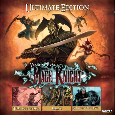 Mage Knight Ultimate Edition Board Game Boardgamegeek