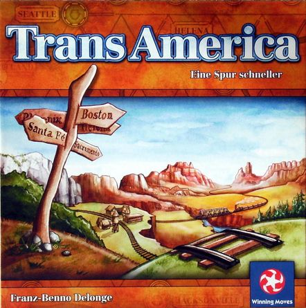 TransAmerica | Board Game | BoardGameGeek