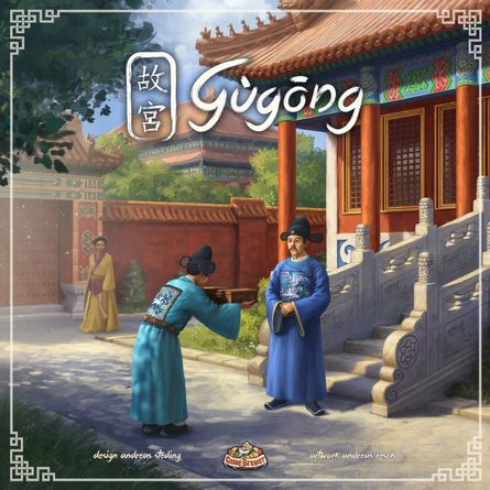 Review: Gùgōng:: 1-2-Punchboard Reviews - Gugong: Ringing in the Gu-d Times