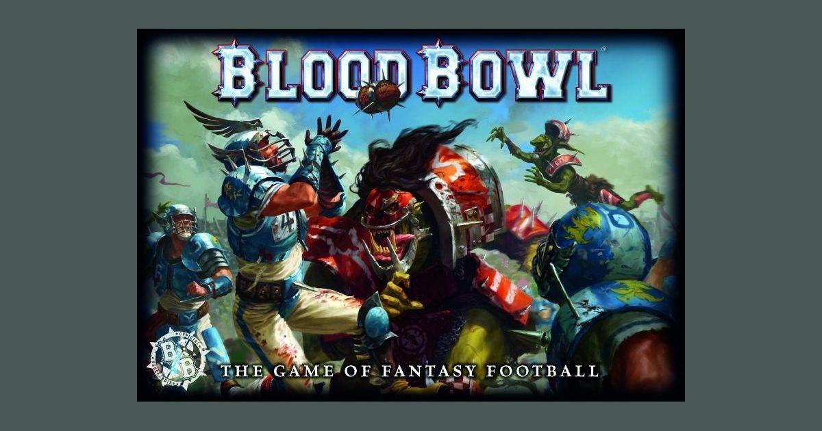 """Bloodbowl 5/"""" x 4/"""" Warhammer BLOOD BOWL Sticker"""