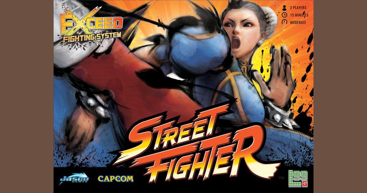 Exceed Street Fighter Chun Li Box Board Game Boardgamegeek