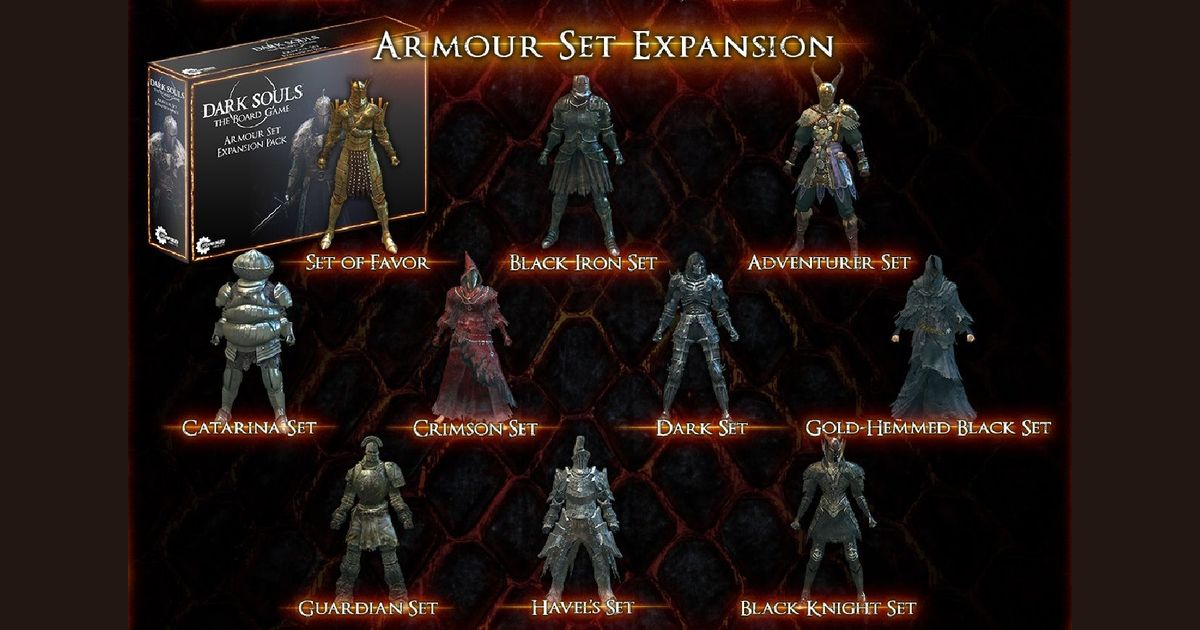 Dark Souls The Board Game Armour Set Expansion Board Game