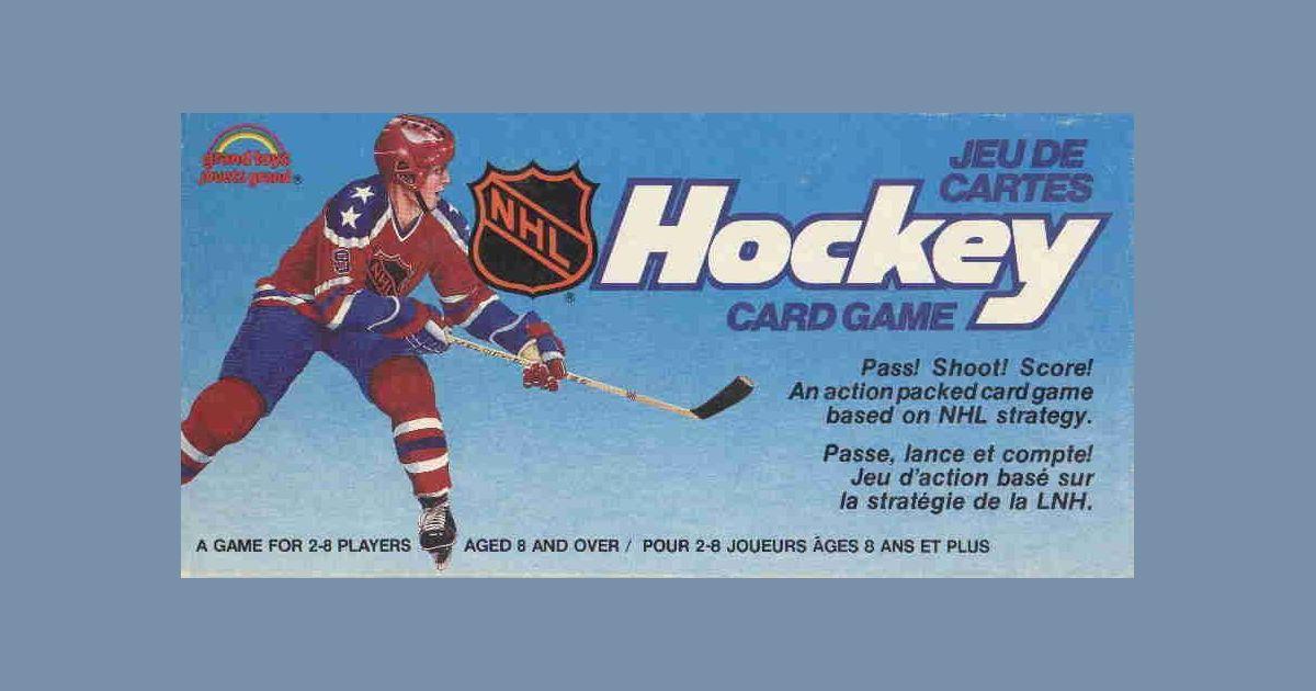 Hockey Card Game Board Game Boardgamegeek