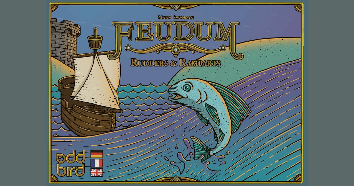 Feudum: Rudders & Ramparts | Board Game | BoardGameGeek