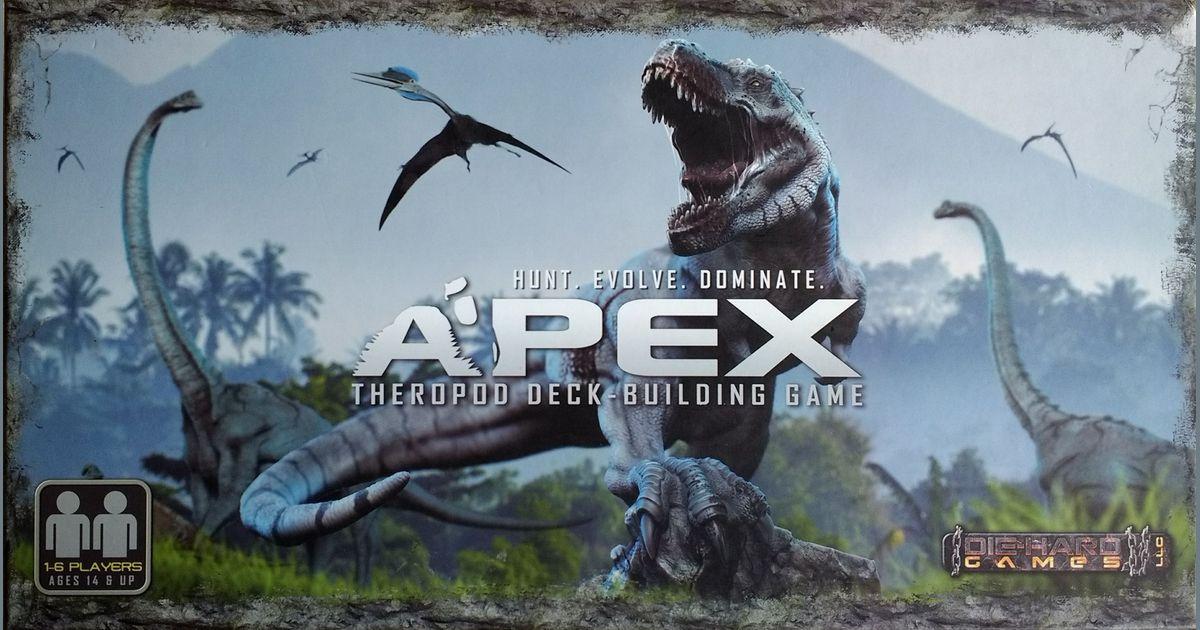 Apex Theropod Deck-Building Game | Board Game | BoardGameGeek