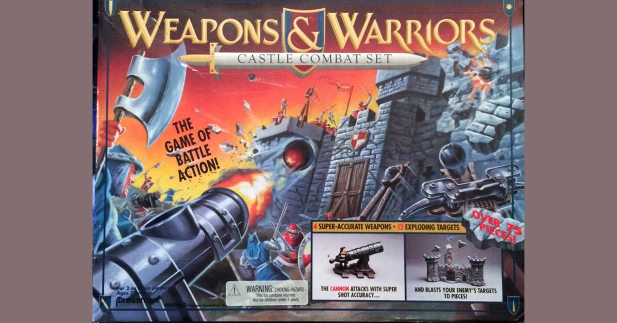 Weapons and Warriors: Castle Combat Set | Board Game | BoardGameGeek