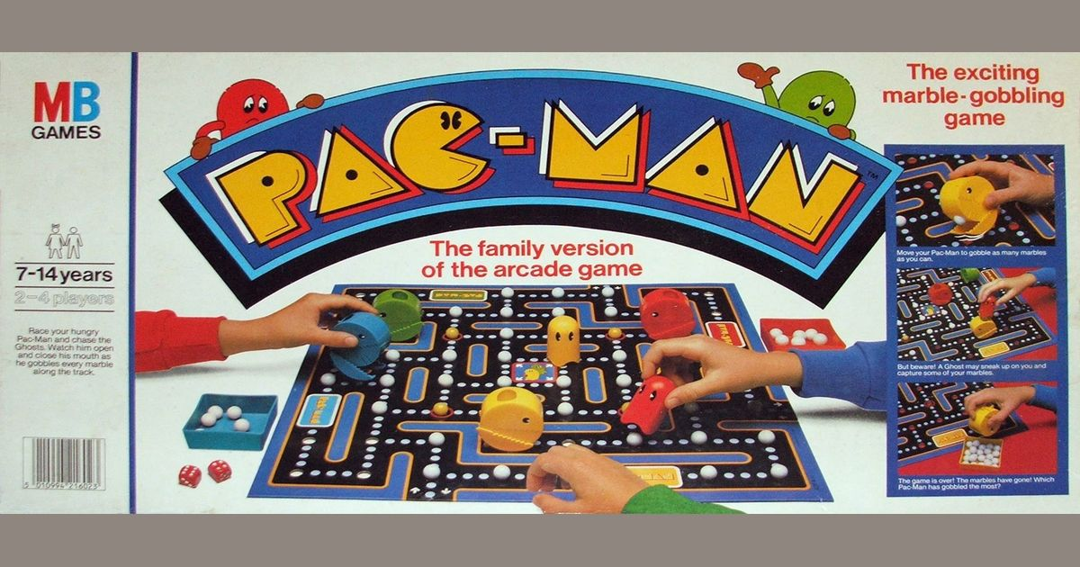 Pacman Table Game >> Pac Man Game Board Game Boardgamegeek