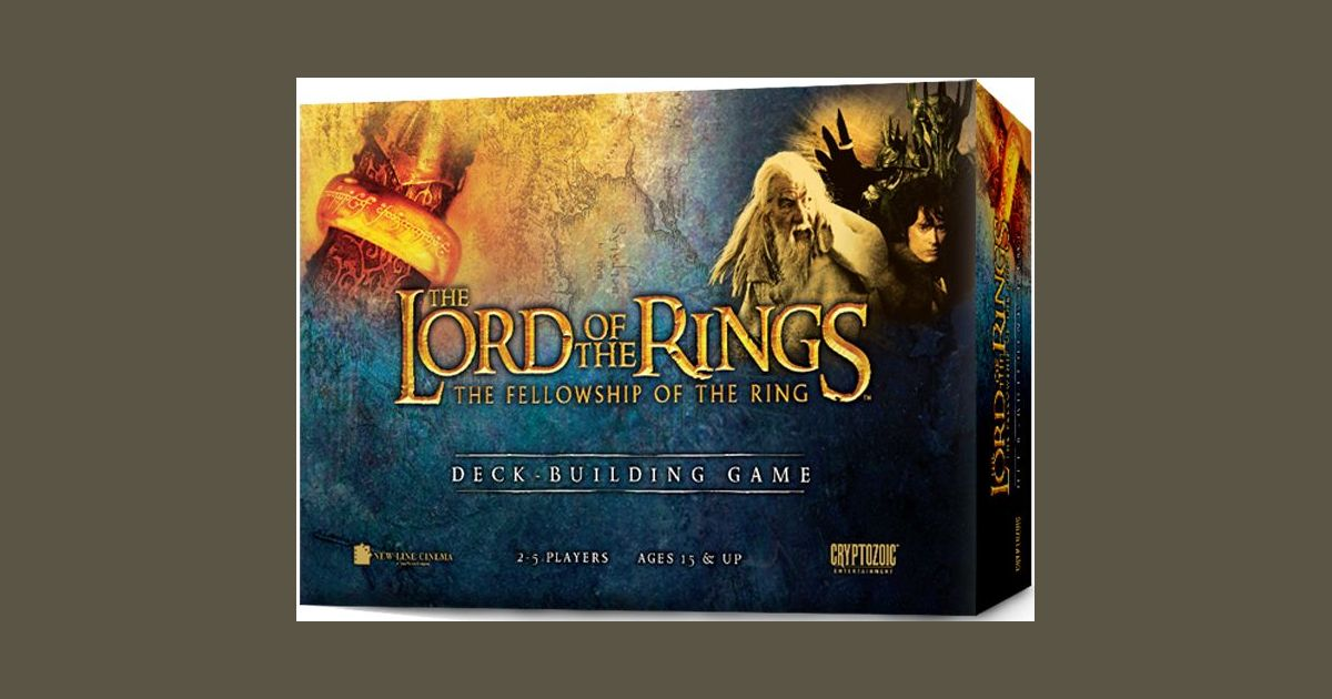 The Lord Of The Rings The Fellowship Of The Ring Deck