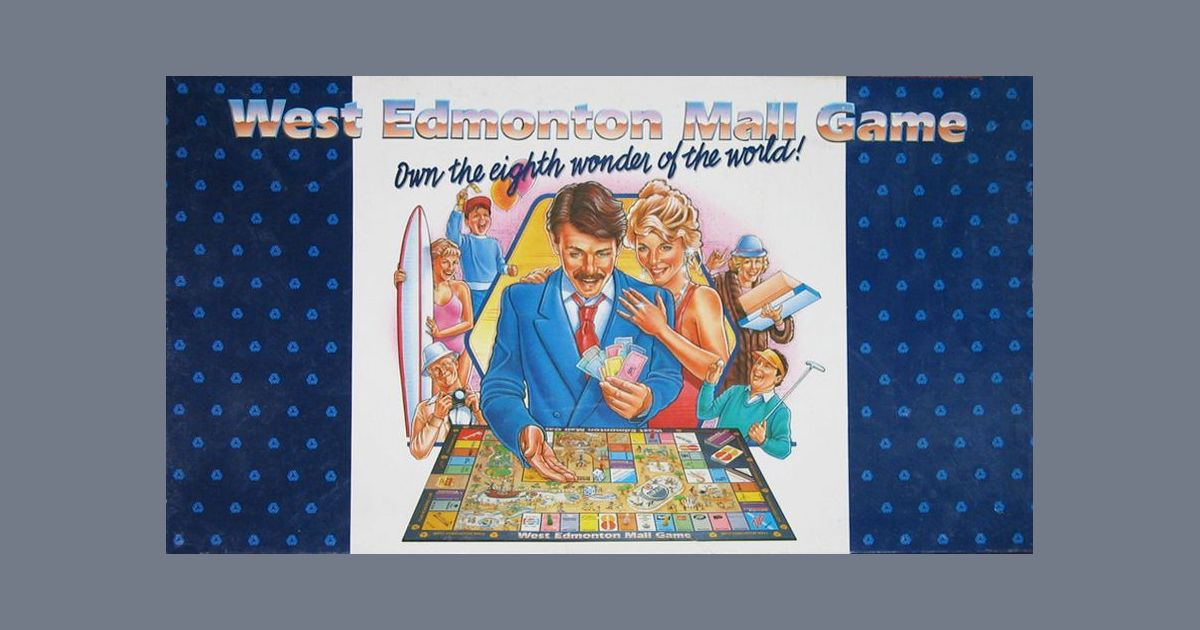 finest selection 6b6ad 75bc7 The West Edmonton Mall Game | Board Game | BoardGameGeek