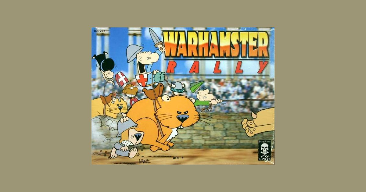 Warhamster Rally | Board Game | BoardGameGeek