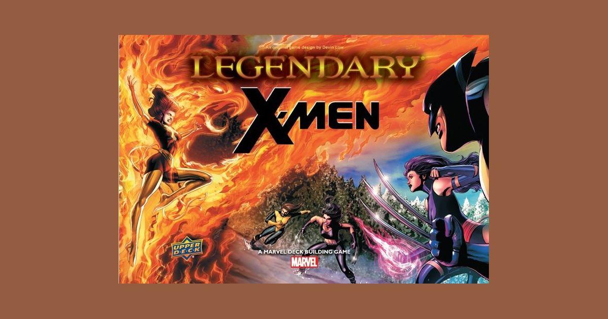 Legendary: A Marvel Deck Building Game – X-Men | Board Game