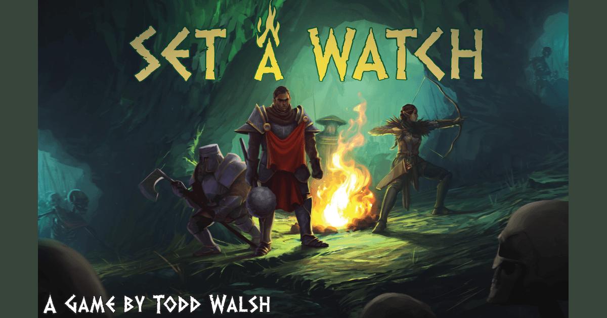 Set a Watch | Board Game | BoardGameGeek