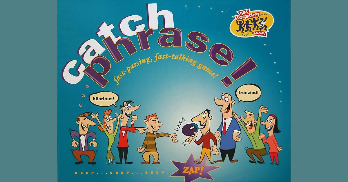 Is running the clock in CatchPhrase cheating or strategy