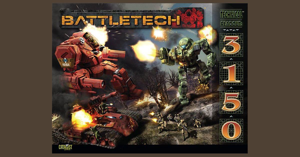 Battletech 2020 Mech List.Battletech Technical Readout 3150 Board Game