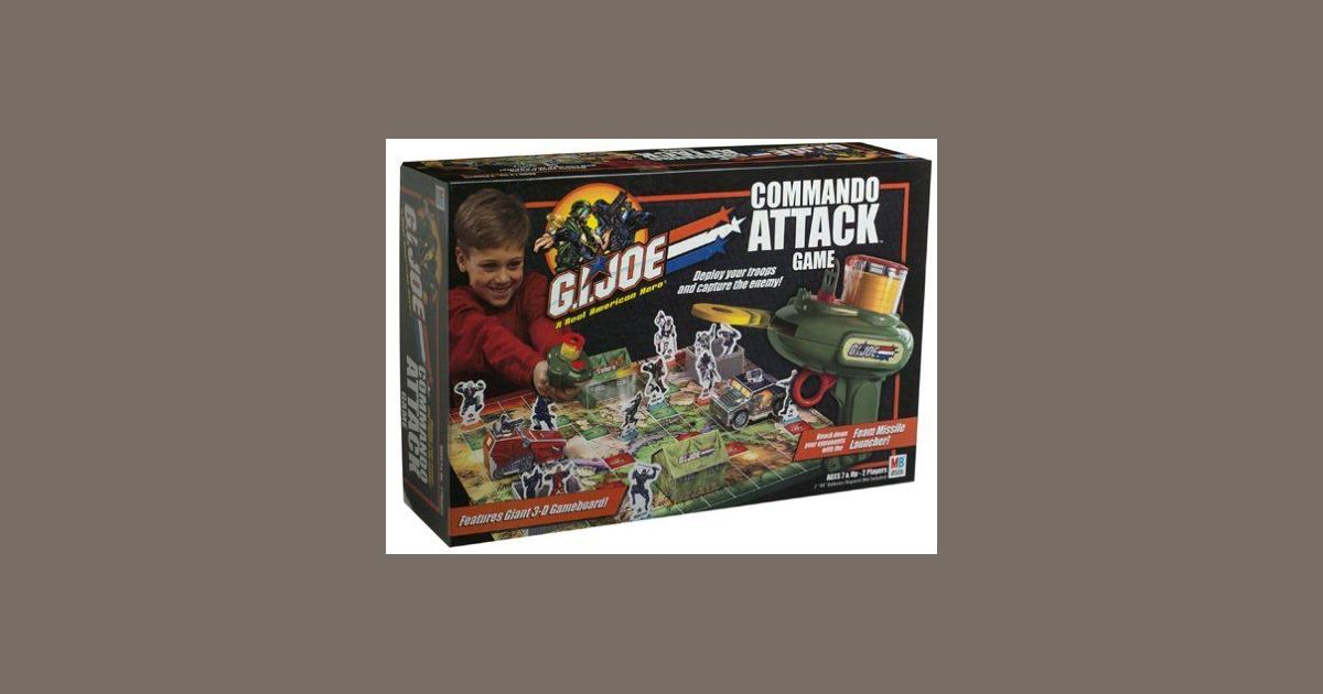 G I  Joe Commando Attack | Board Game | BoardGameGeek