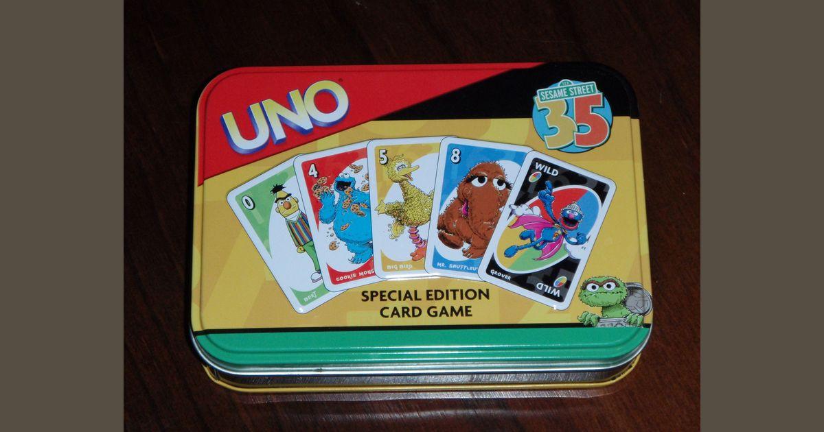 UNO: Sesame Street | Board Game | BoardGameGeek