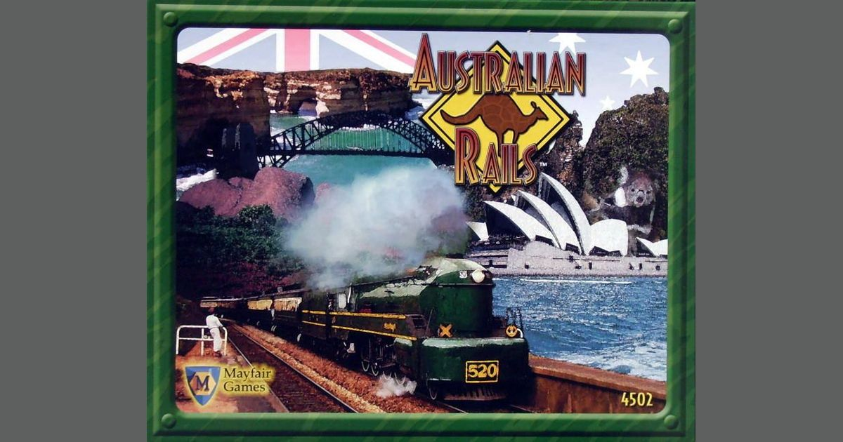 Australian Rails   Board Game   BoardGameGeek
