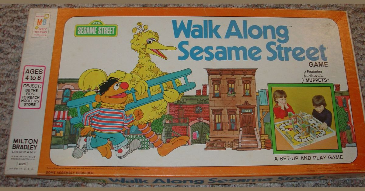 Sesame Street Walk - Walk Images and Picture