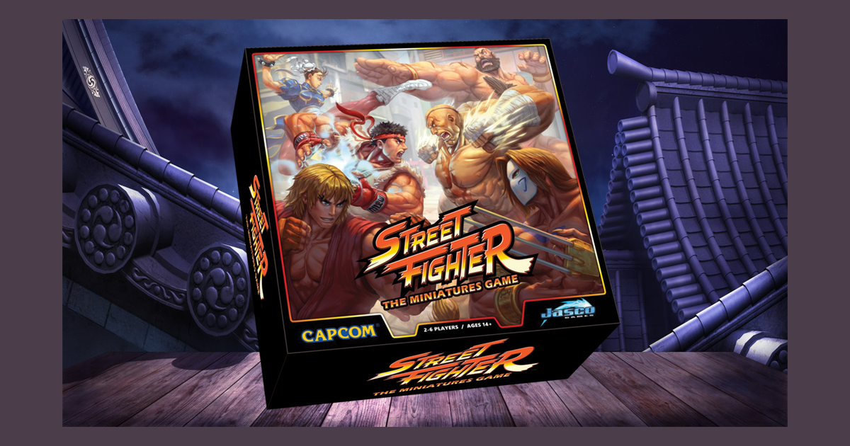 Street Fighter: The Miniatures Game | Board Game | BoardGameGeek