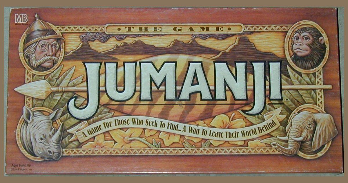 Jumanji Board Game Boardgamegeek
