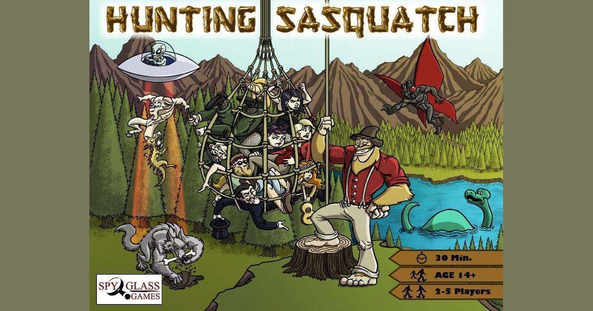 Hunting Sasquatch | Board Game | BoardGameGeek