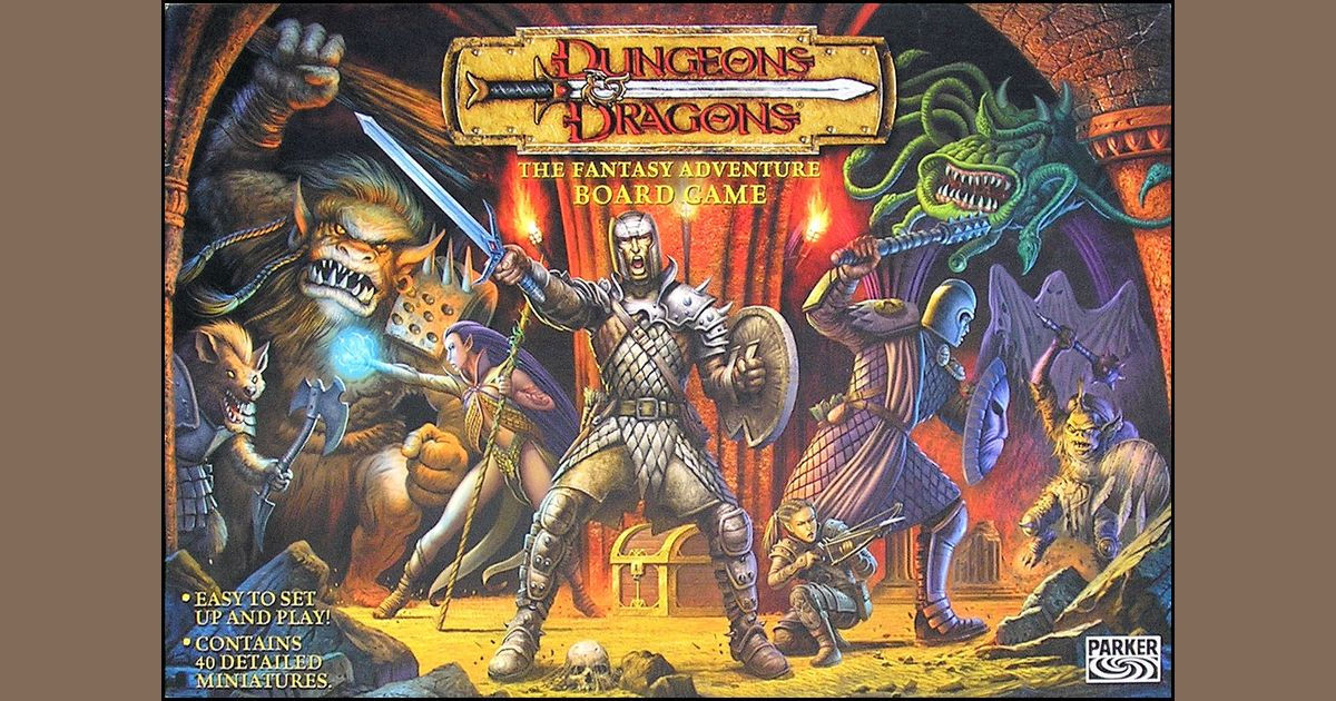 Dungeons & Dragons: The Fantasy Adventure Board Game | Board