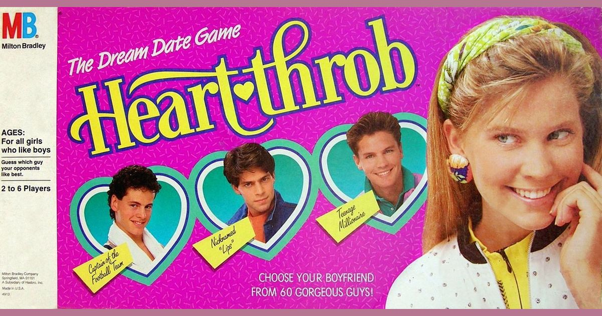 80s Dating spel