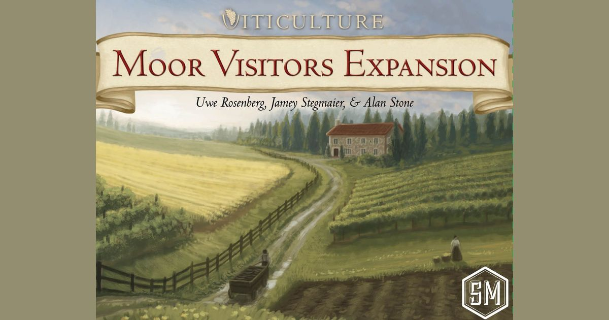 Viticulture Moor Visitors Expansion Board Game