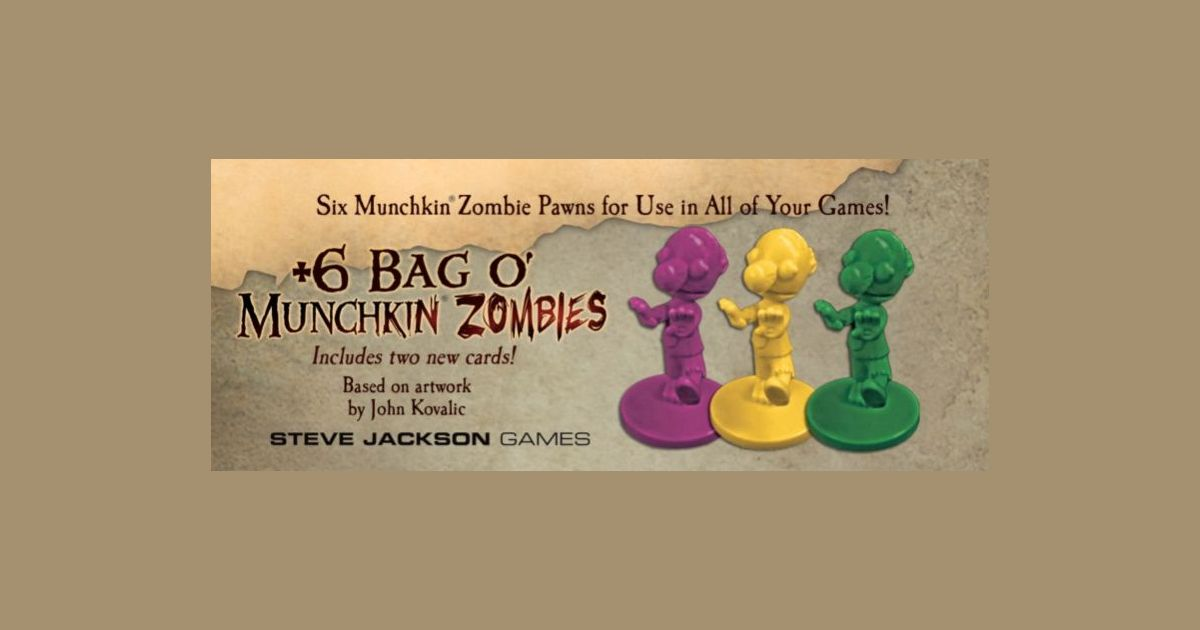 Steve Jackson Games Bag O/' Munchkin Legends