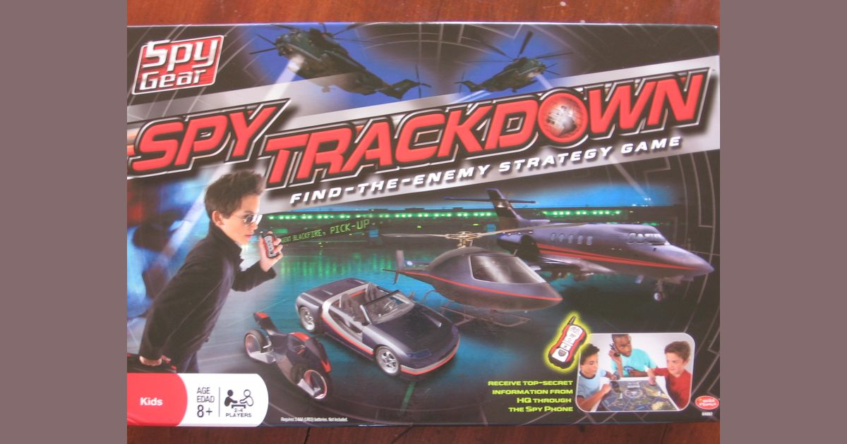 Spy Trackdown Board Game Replacement Parts /& Pieces 2008 Wild Planet