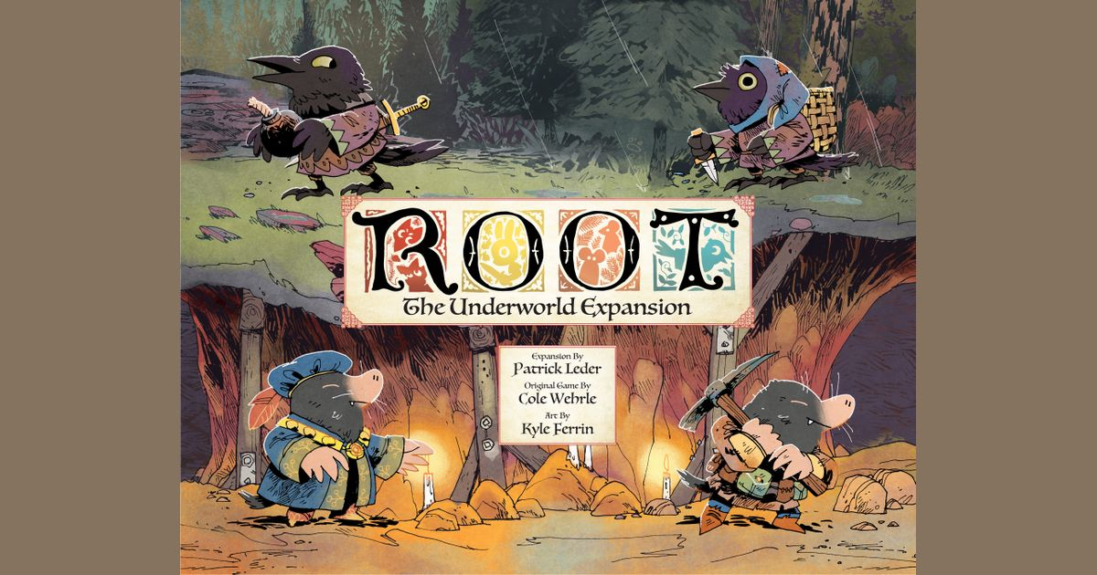 Root: The Underworld Expansion | Board Game | BoardGameGeek