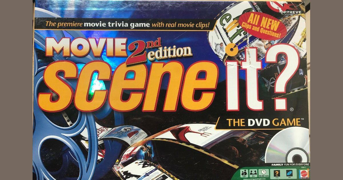 Scene It Movie Second Edition Board Game Boardgamegeek
