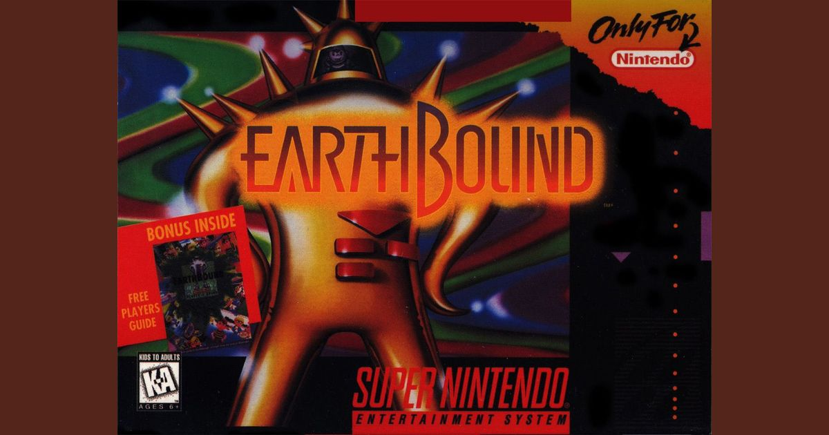 EarthBound | Video Game | VideoGameGeek