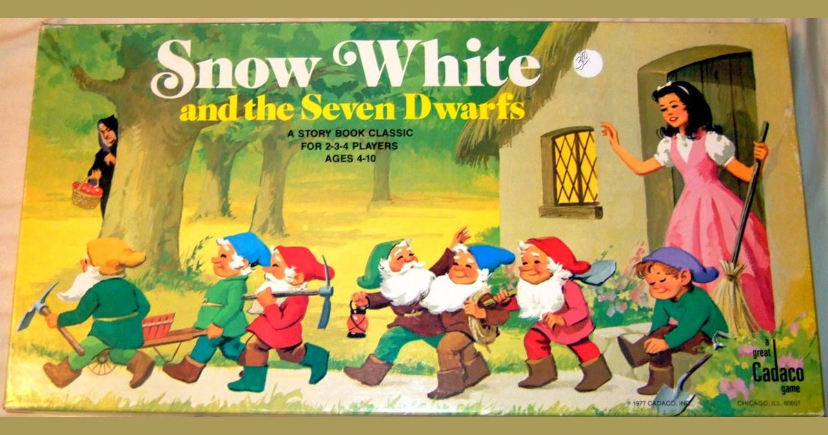 Snow White and the Seven Dwarfs | Board Game | BoardGameGeek