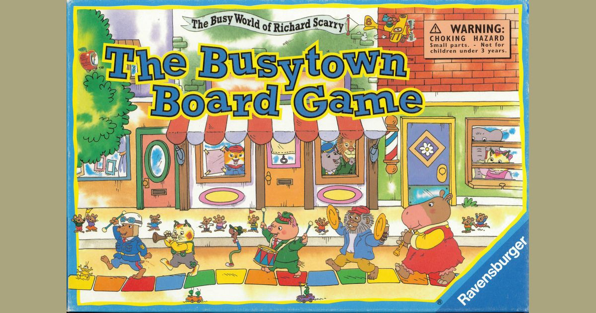 Richard Scarry ~ Original Illustration for Busy Coloring Book ... | 630x1200