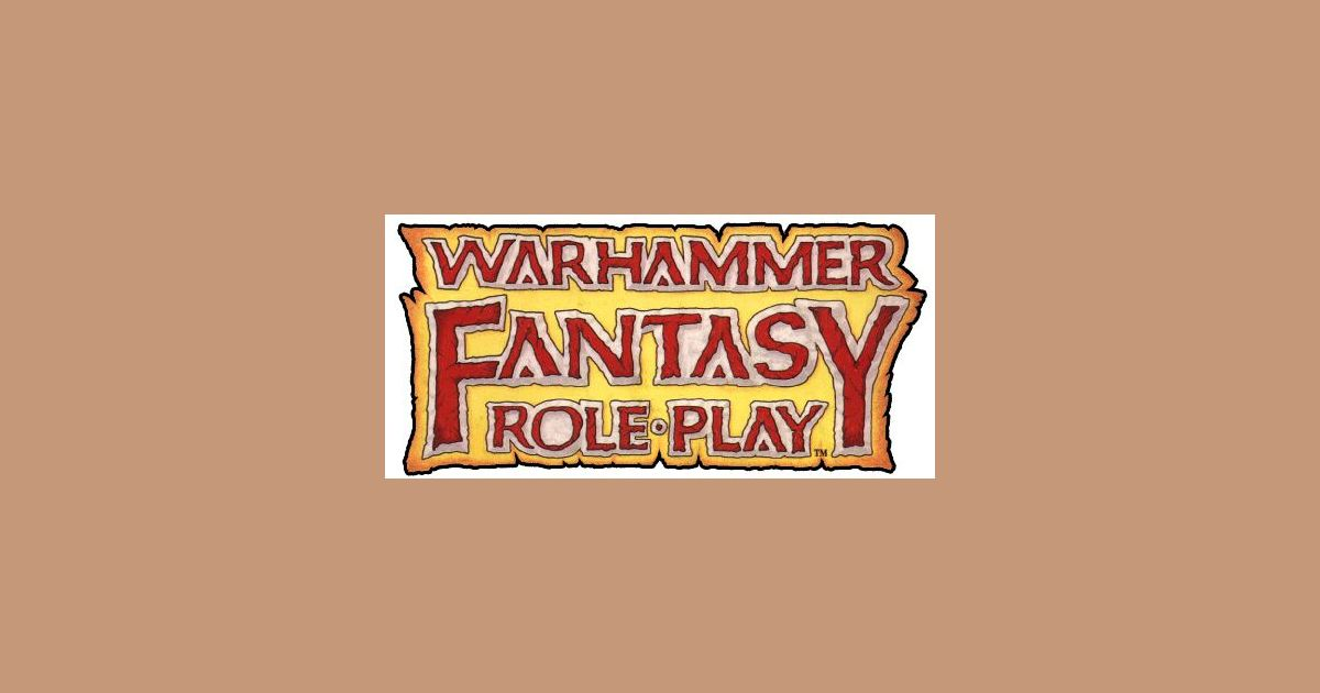 WFRP Adventure Reference List | Warhammer Fantasy Roleplay