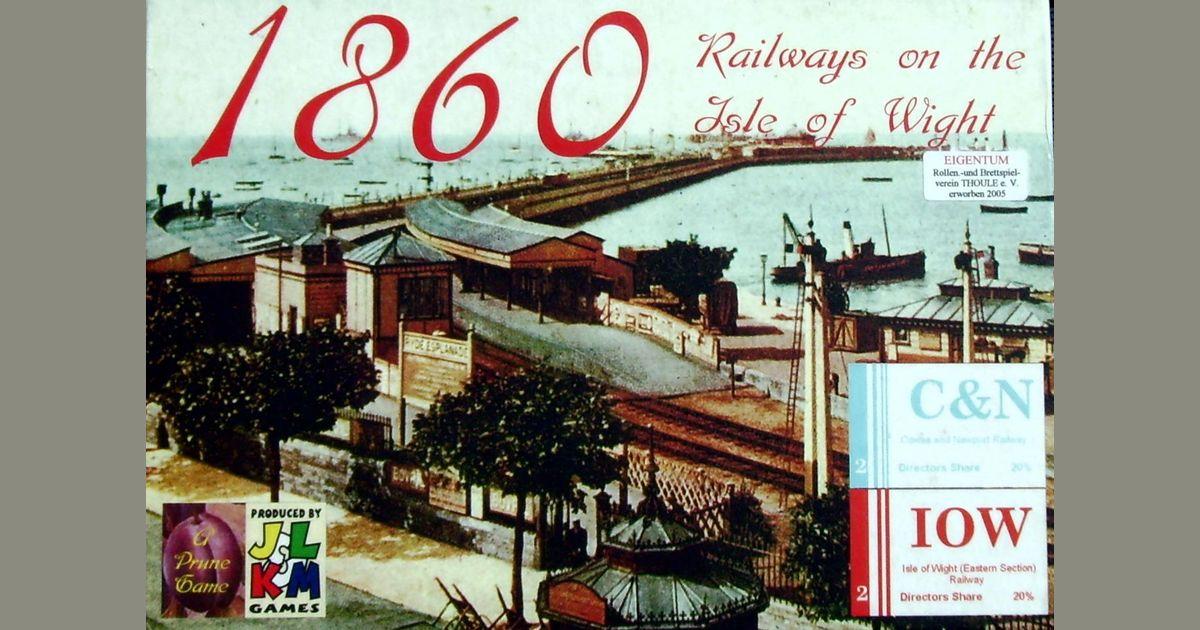 1860: Railways on the Isle of Wight | Board Game | BoardGameGeek