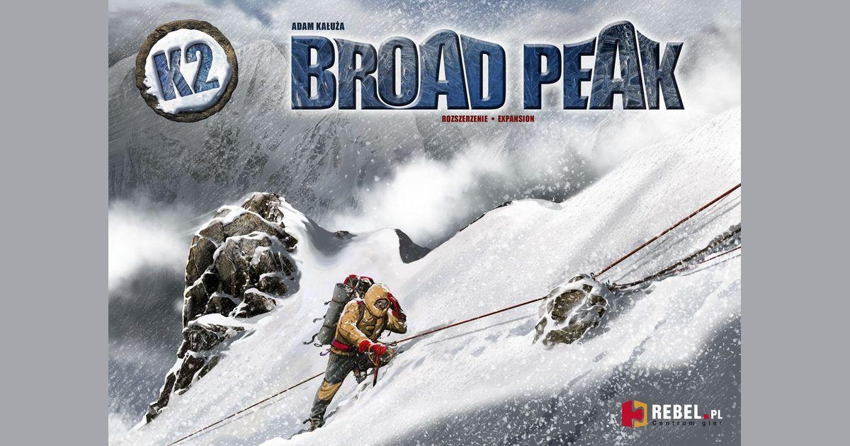 K2: Broad Peak | Board Game | BoardGameGeek