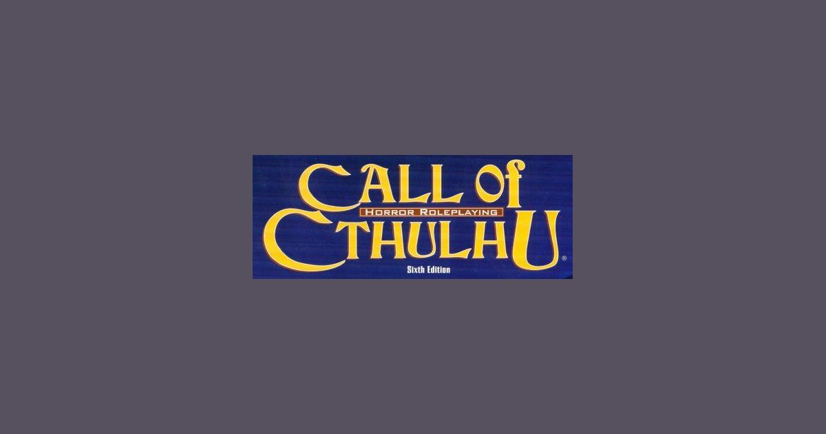 call of cthulhu 7th edition sanity rules